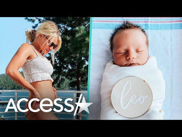 \'DWTS\' Pro Witney Carson Shares First Photo Of Baby Boy