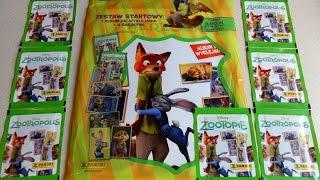 Disney Zootopia - Zootropolis Movie Panini Starter Set Sticker Album & Stickers