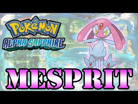Caçando Lendários [Pokémon Alpha Sapphire] - Mesprit