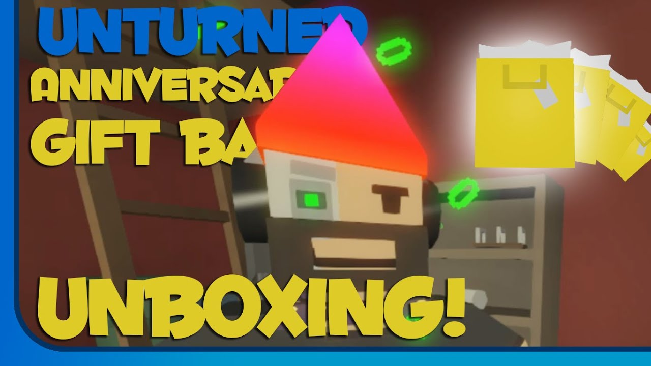 Unturned anniversary gift bag unboxing unturned 2 year steam unturned anniversary gift bag unboxing unturned 2 year steam anniversary youtube negle Choice Image