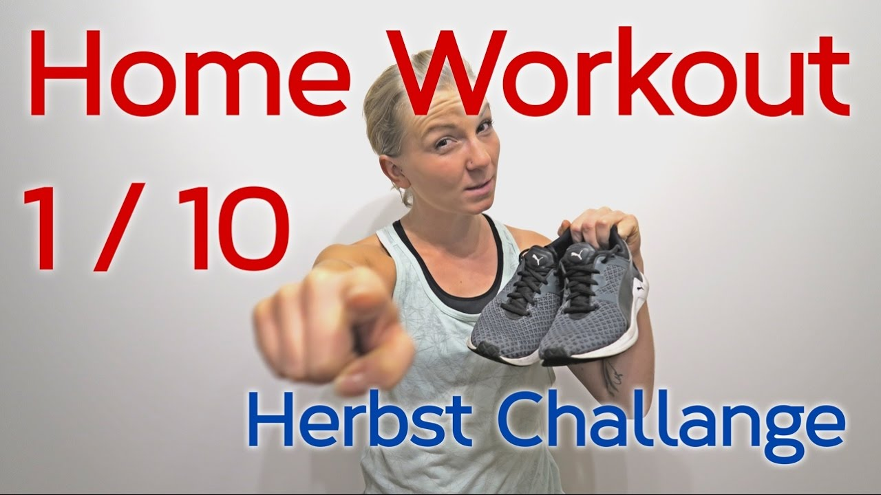 herbst challenge 1 workout f r zu hause zum mitmachen tatisports youtube. Black Bedroom Furniture Sets. Home Design Ideas