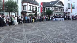 Parade der Junggesellen Schützenfest-Samstag 2012