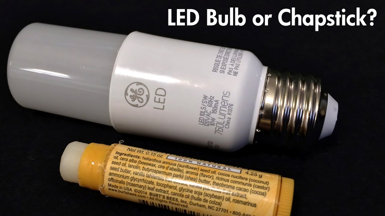 Ge Bright Stik Review Led Bulb Or Chapstick Youtube