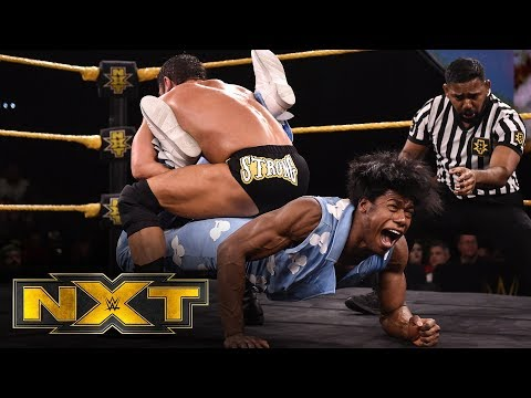 The Velveteen Dream vs. Roderick Strong: WWE NXT, Feb. 19, 2020