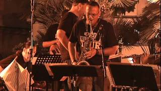 UCO Jazz Ensemble performing Channel One Suite at the Jazz a Juan Festival 2010 - part 1 of 2