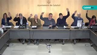 Ajuntament de Calafell: sessió plenària ordinària, 4 de febrer de 2019