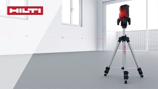Hilti- PM 4-M Multiline laser - Transfer heights (English)