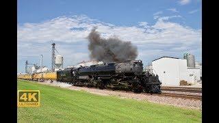 ⁴ᴷ U.P. BigBoy #4014 The Great Race Across the Midwest Thru Iowa