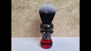 Making a shaving brush / Делаю помазок для бритья