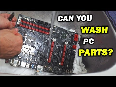 Washing 12 Motherboards With WATER And Attempting To Fix Them - (Can YES Fix It Pt. 1/2)