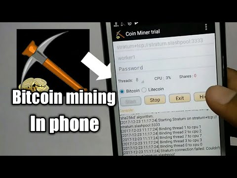 How to mine bitcoin in your devicemobile youtube how to mine bitcoin in your devicemobile ccuart Choice Image