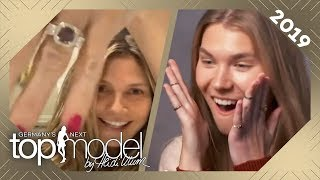 Heidis Heiratsantrag! So süß haben die Kinder Tom bei der Verlobung geholfen | GNTM 2019 | ProSieben