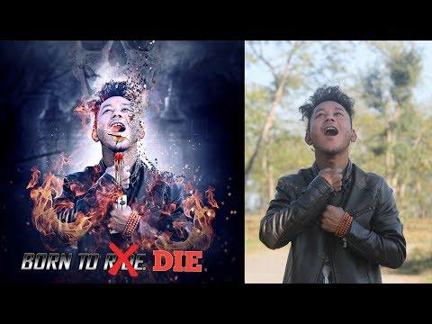 Picsart editing born 2 die horror movie poster dispersion effect | Picsart tutorial like photoshop