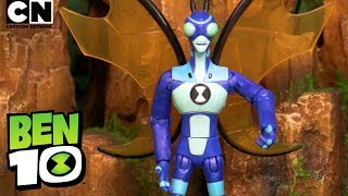 Ben 10 STINKFLY in A Fly on the Wall! | Ben 10 Toys | Cartoon Network