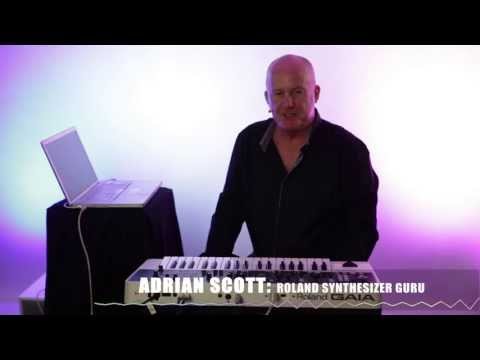 Roland GAIA SH-01 Synthesizer Overview by Adrian Scott