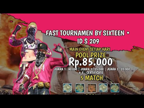 SESI2BY FT SIXTEEN ID S209 #FREEFIRE#FT12SLOT#FASTTOUR