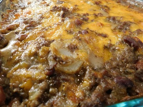 southern-hamburger-and-potato-casserole-(easy-recipe)