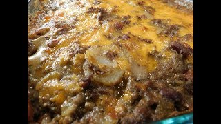 Gambar cover Southern Hamburger and Potato Casserole (easy recipe)