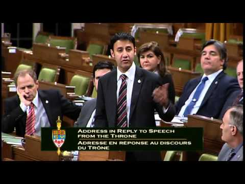 Response to the Speech from the Throne   Dec. 7, 2015