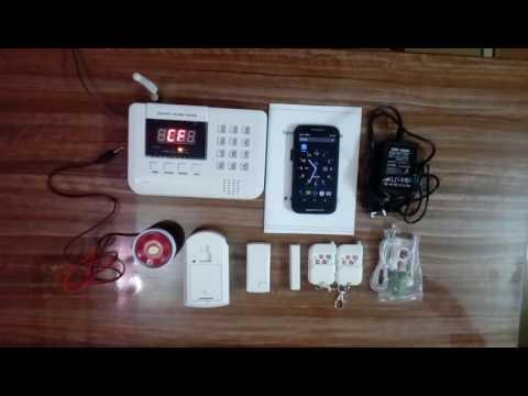 Алармена система с 99 безжични зони PSTN ( за мобилен и стационарен телефон) 11