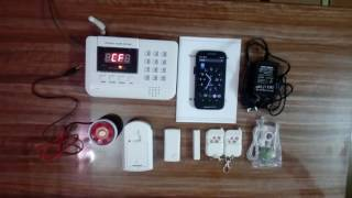 Wireless home / business security system