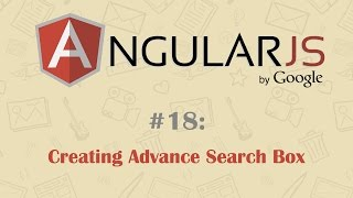 AngularJS Tutorial 18: Advance Search Box