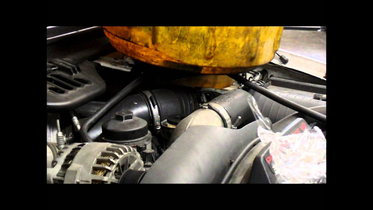 how to replace the diesel fuel filters on a 2006 ford f350 [ 1280 x 720 Pixel ]