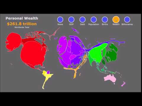 The Global Distribution of Population and Wealth