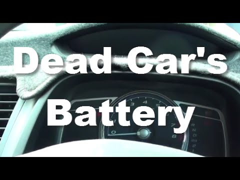 sound  car engine couldnt start  flat  dead battery youtube