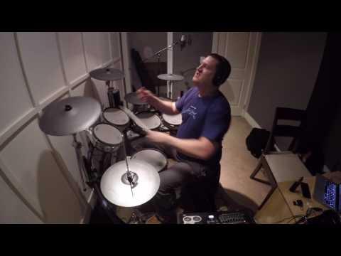 Underoath - Down, Set, Go (drum cover)