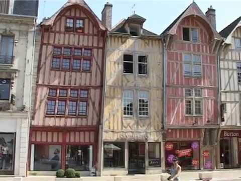 TROYES città medievale dello Champagne, Francia - di Paolo Del Ry