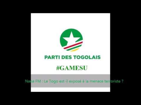 Nathaniel OLYMPIO sur Nana FM : Togo et menace terroriste