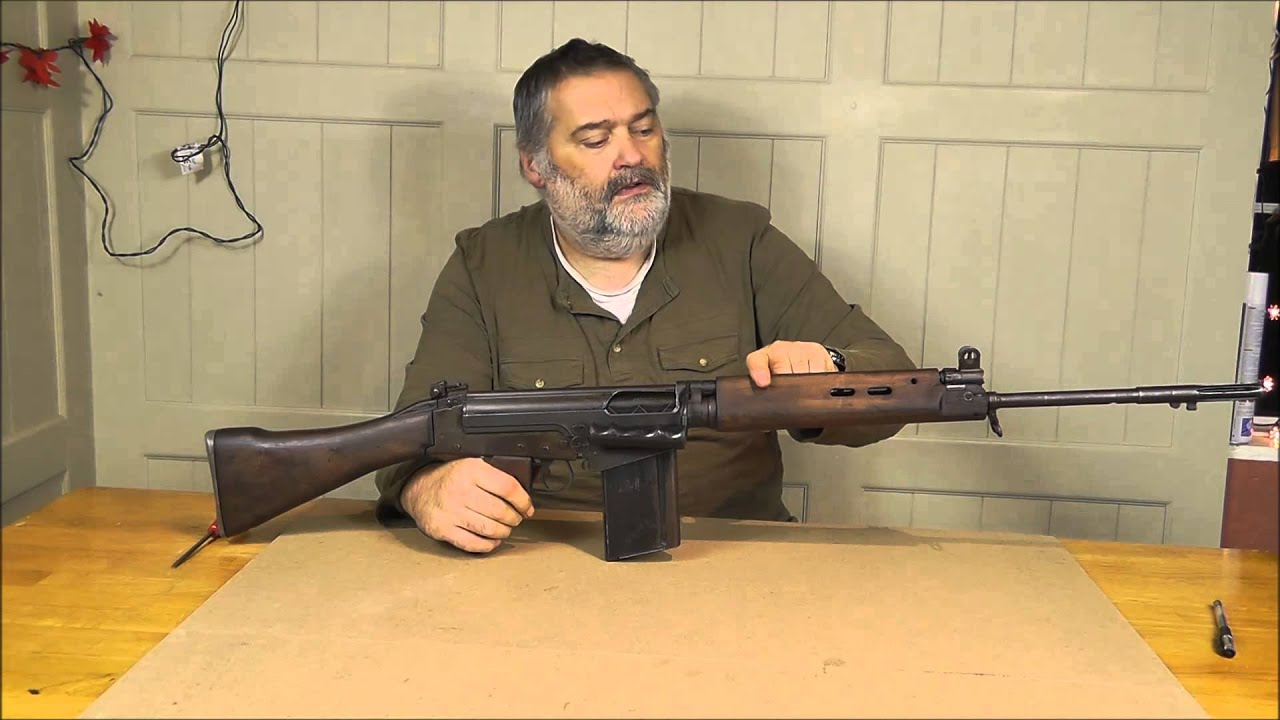 Deactivated L1A1 SLR Part 2 - Showing new features