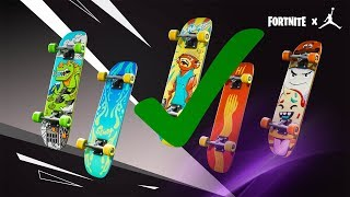 Fortnite How To Get Skateboard Styles FAST!!!