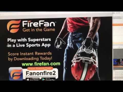 FireFan live sports app