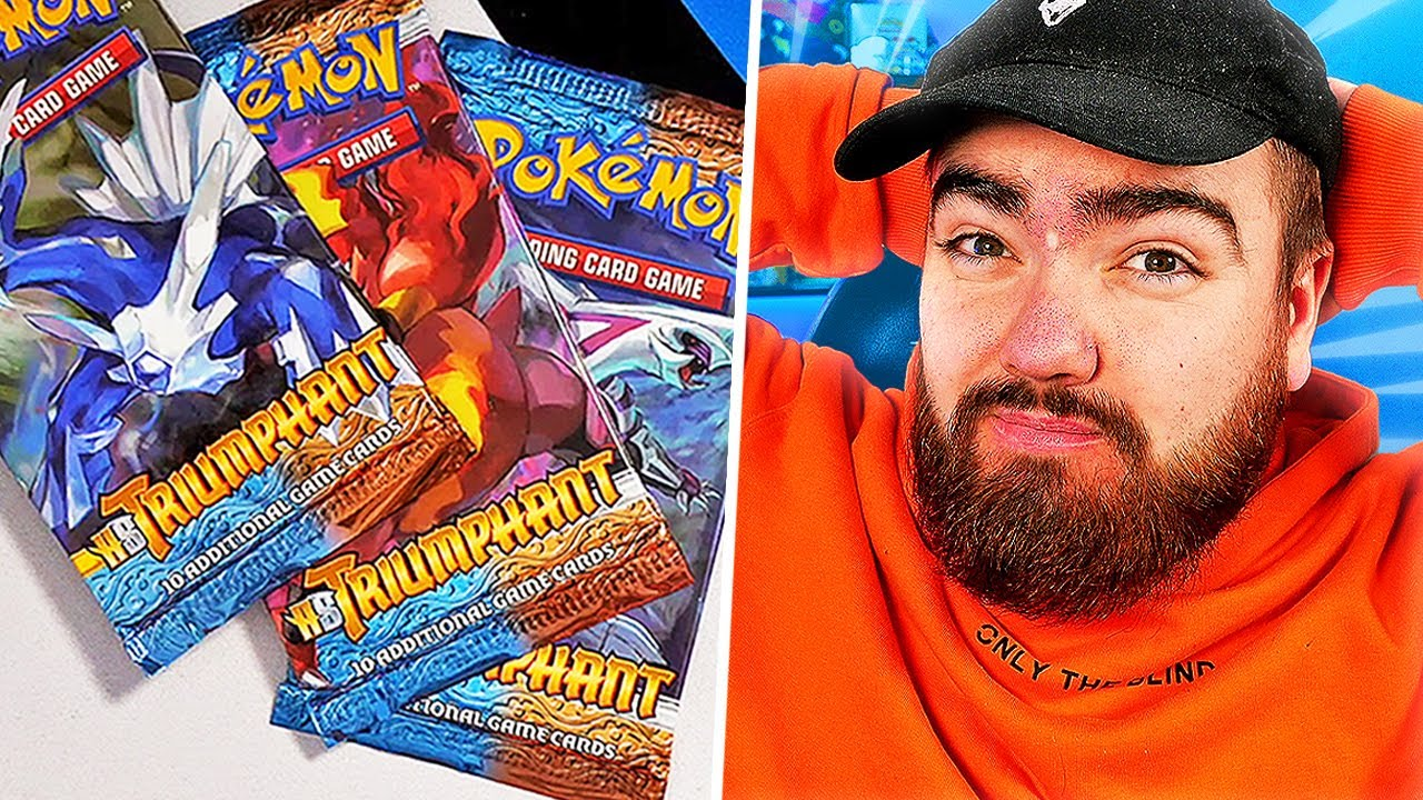 Opening Rare HEAVY Pokémon Packs *GONE VERY WRONG*