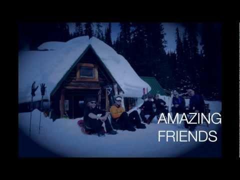 Yoho National Park Stanley Mitchell Hut Spring Break Backcountry Ski Trip 2011