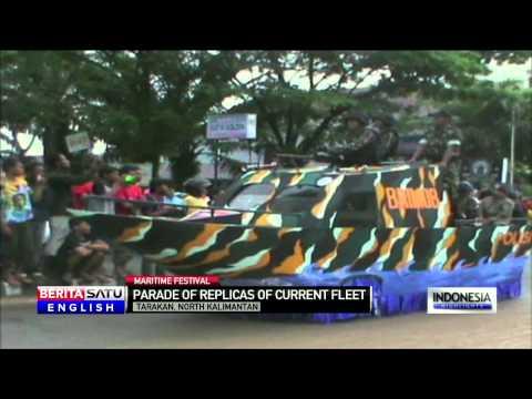 North Kalimantan Holds 'Maritime Festival'