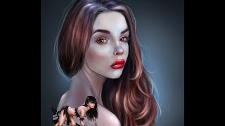 цифровой портрет - Maria Way (Мария Вэй)(контакт: https://vk.com/memorysto паблик вконтакте: http://vk.com/memorys_art больше работ: http://memorysto.deviantart.com/ и здесь: ..., 2015-10-16T18:18:52.000Z)