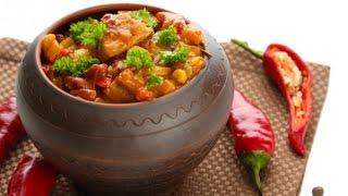 Чанахи рецепт с мясом и фасолью