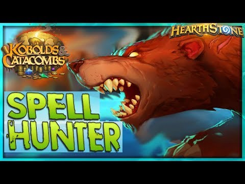 NO MINIONS! - Kibler's Spell Hunter Deck Guide & Gameplay 🌟 HEARTHSTONE  | Kobolds Catacombs Legend