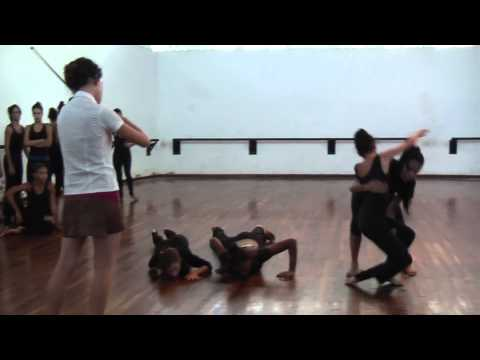 Cuban Contemporary/Interpretive dance at ISA (Institute of Superior Art) Havana Cuba