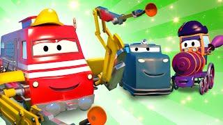 Troy der Zug -  Der Elektrikerzug (Revival)  - Autopolis 🚄 Lastwagen Zeichentrickfilme für Kinder