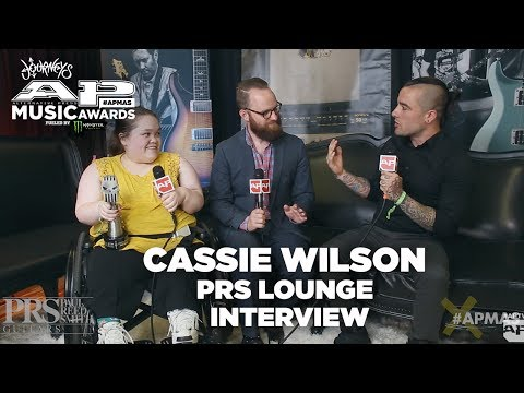 APMAs 2017 Interview: CASSIE WILSON + DAN CAMPBELL | PRS Lounge