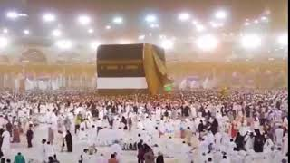 Hajj 2018 (1439) Makkah heavy rain live HD