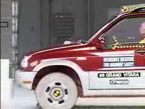 Crash Test 1999 - 2005 Suzuki Grand Vitara / Escudo IIHS Frontal Impa
