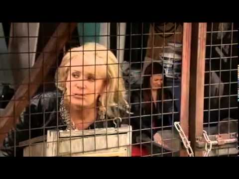 Liz Mcdonald is scared of the sign language man