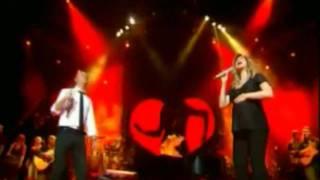 Lara Fabian ft Gigi D'alessio- Un cuore malato (french and italian 2 videos in 1)