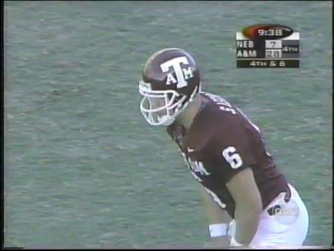 #18 Texas A&M vs #2 Nebraska 1998 Part 3