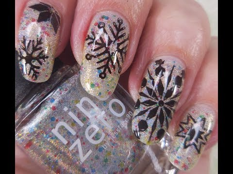 China Glaze / 50 Shimmering Years & Giggling All The Way ~ Beauty Big Bang XL-038 from YouTube · Duration:  6 minutes 5 seconds